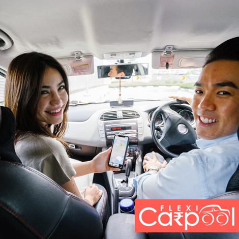 Flexi Carpool - Carpool Mobile App