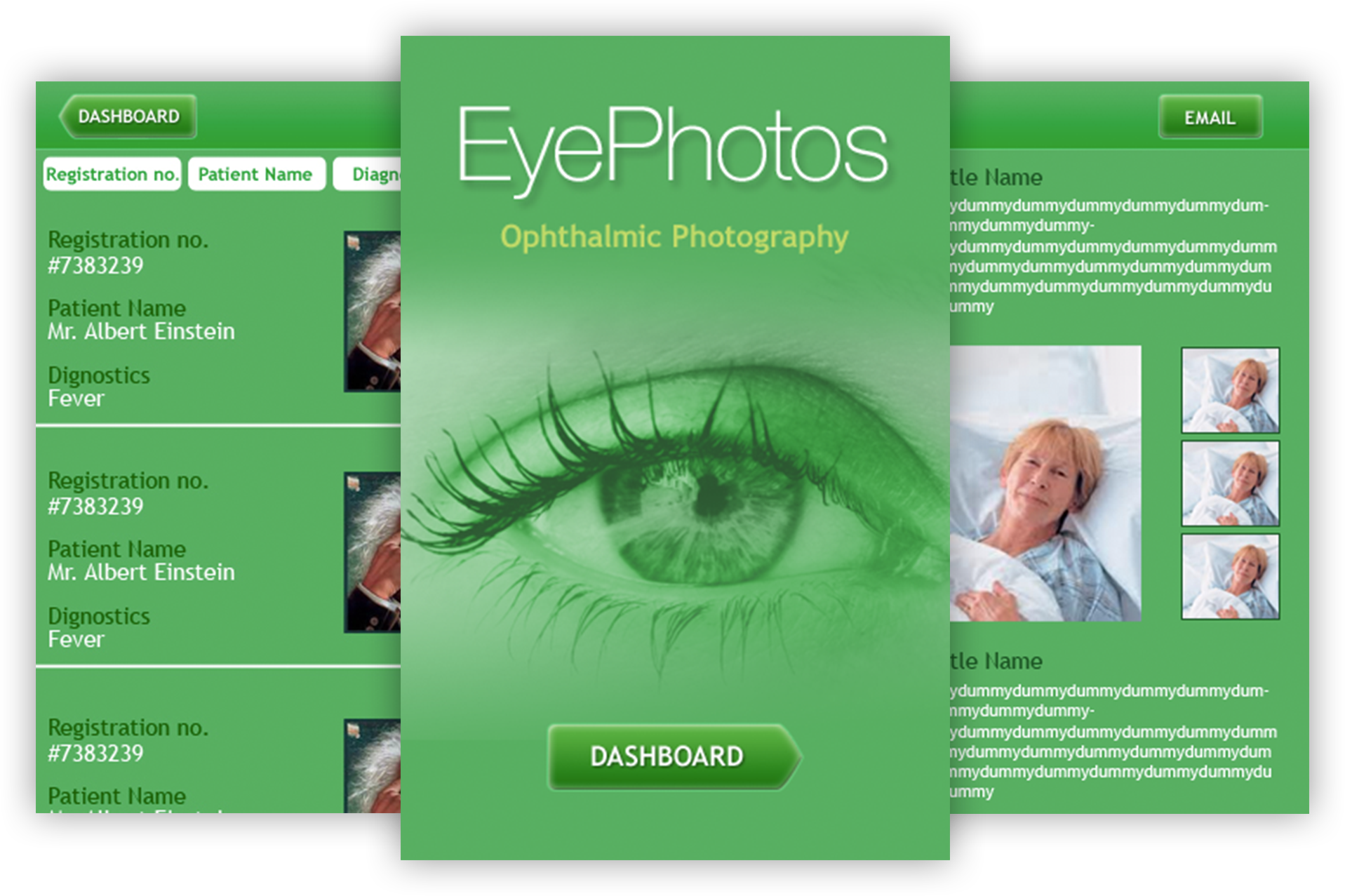 Eye Patients Management App