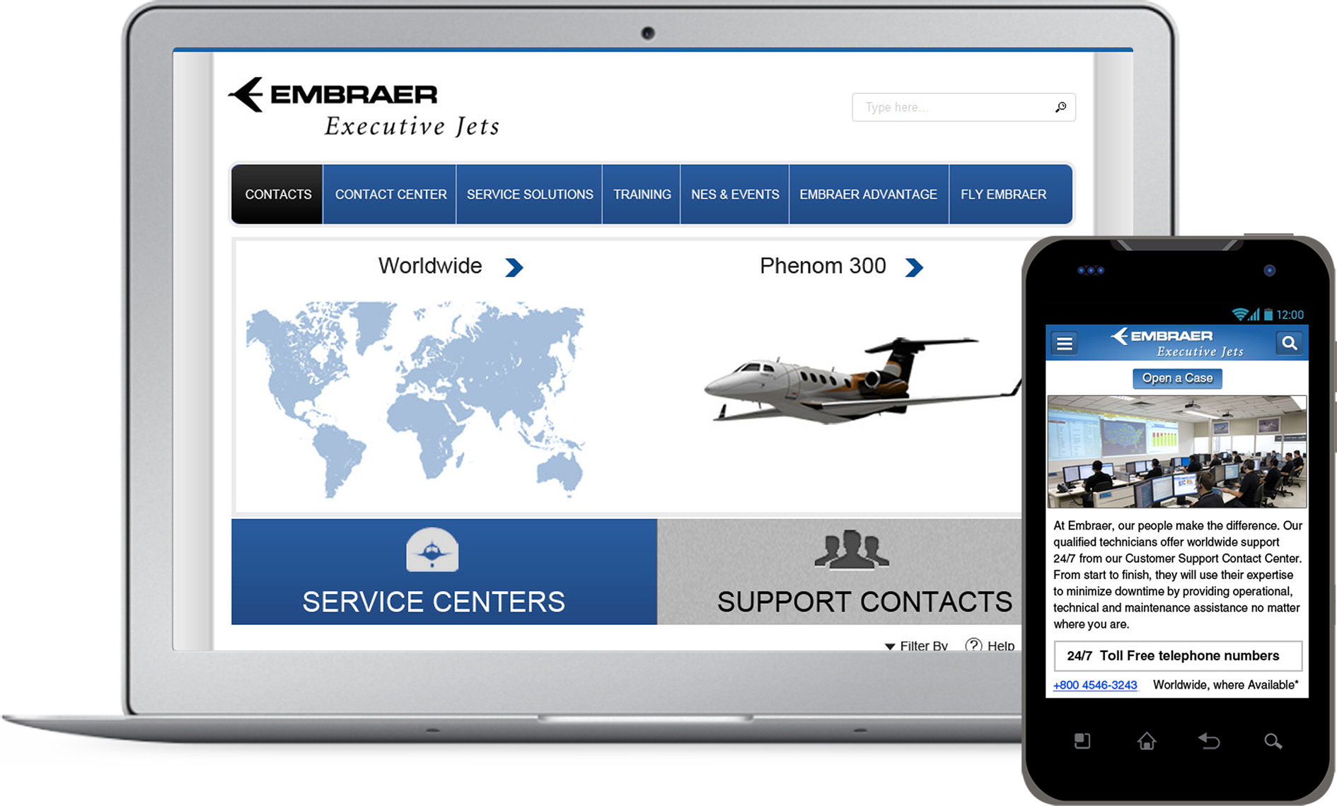 Aeronautical Customer Support App