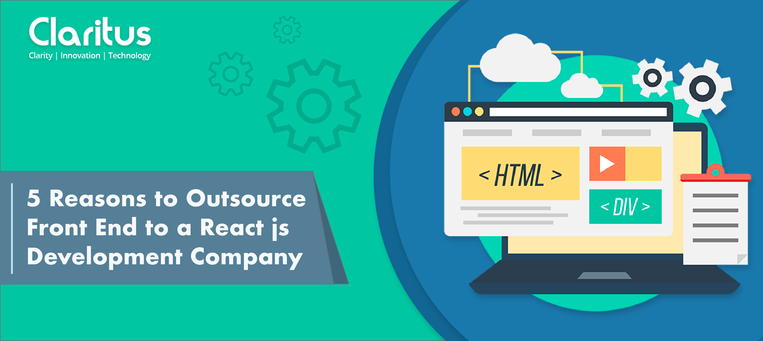 5 Reasons to Outsource your frontend to a ReactJS Development Company